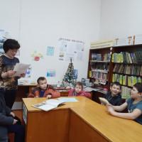 Литературная игра к юбилею Якоба Гримма в Сейтяковской сельской библиотеке