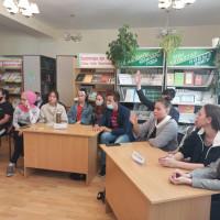 В Балтачевской центральной библиотеке прошел час молодого избирателя