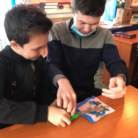 Асавская модельная библиотека провела конкурсную программу ко Дню защитника Отечества