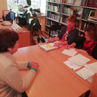 """23 мая согласно приказу МАУ """"Районный Дворец культуры"""" библиотекари и работники Балтачевской централизованной библиотечной системы прошли плановую аттестацию."""
