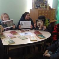 Литературный час посвященный А.Чехову в Тошкуровской библиотеке