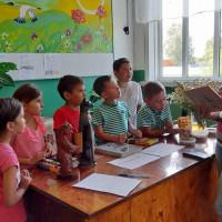 """Сейтяковская сельская библиотека совместно с Сейтяковским СДК провели познавательно-игровую программу """"Всё на свете интересно""""."""