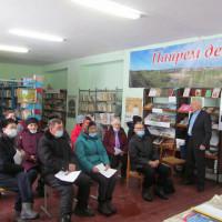 В Нижнеиванаевской сельской библиотеке прошел выездной правовой семинар в рамках социального проекта «Правовая безопасность пожилых граждан на селе»