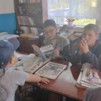 Литературный час в Тучубаевской сельской библиотеке