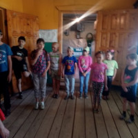 Состоялось выездное мероприятие для детей Асавской модельной библиотеки