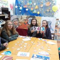 Сейтяковская сельская библиотека приняла участие во всероссийской ежегодной акции «Библиосумерки – 2021», приуроченной 60-летию со дня первого полёта человека в космос и провела познавательную игру для детей.