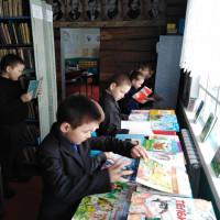 Экскурсия в Штандинской сельской библиотеке