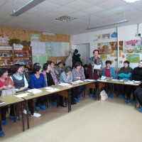 15 ноября в Кумьязинской сельской модельной библиотеке состоялся выездной семинар библиотечных работников «Читательские объединения в библиотеке: новые времена, новые взгляды».