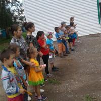 «Разноцветная игра» в Кумьязинской сельской модельной библиотеке