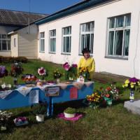 Выставка цветов в Сейтяковской СБ