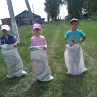 Начаровская библиотека организовала веселые игры для детворы