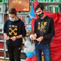 Урок мужества в центральной библиотеке Старобалтачева