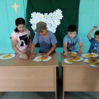 Нижнесикиязовская сельская библиотека совместно с культорганизатором провели праздничную программу для детей «Ромашек белый хоровод»