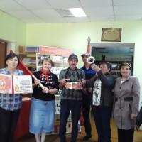 Староянбаевская сельская модельная библиотека совместно с сельским домом культуры организовали пионерский сбор «Пионерское наше детство».