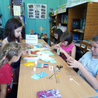 Нижнесикиязовская сельская библиотека провела литературную игру «Путешествие на остров книголюбов»