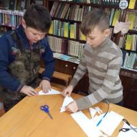 В преддверии Нового года, Сейтяковская библиотека