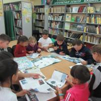 В детской модельной библиотеке прошел час книги «Книги-юбиляры – 2021 года»