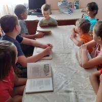 В Нижнекарышевской сельской библиотеке прошел познавательный час