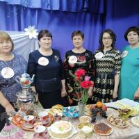 """К международному женскому дню, Штандинская сельская библиотека совместно с сельским домом культуры провели мероприятие """"А ну-ка, мамы"""""""
