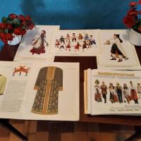 Познавательный час о национальных костюмах в Тучубаевской сельской библиотеке