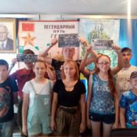 Асавская сельская модельная библиотека провела спортивную игру для молодёжи – «Богатырские игры».