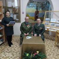 В Норкинской сельской библиотеке прошел вечер встречи с участниками Афганской войны