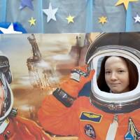 В День космонавтики читатели Сейтяковской сельской библиотеки приняли участие в «космическом» путешествии «Удивительный мир космоса»