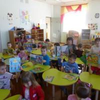 Воспитанники детских садов в гостях у Детской модельной библиотеки
