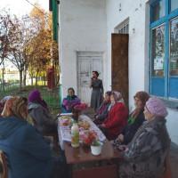 Тучубаевская сельская библиотека отметила День пожилых