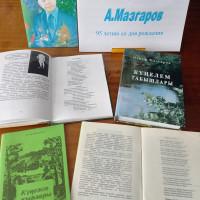 Новоямурзинская сельская библиотека организовала выставку «Наш современник А.Мазгаров»