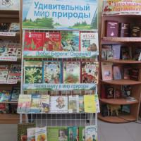В детской модельной библиотеке прошел экологический урок «Через книгу в мир природы»