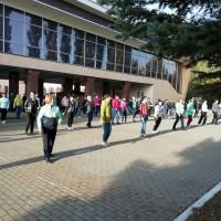 Сотрудники центральной и детской библиотеки приняли участие во флешмобе приуроченному к Всероссийскому Дню Трезвости,которая отмечается 11 сентября