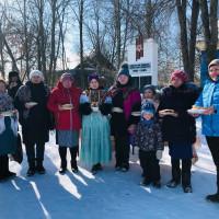 Проводы зимы «Веселая -Масленица!». Асавская сельская модельная библиотека