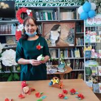 В преддверии 8 марта в Балтачевской центральной районной библиотеке прошел литературно- музыкальный вечер «Язлар белән килә назлар»