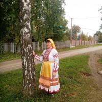 В Нижнекарышево присоединились к празднику национального костюма