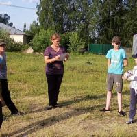 В рамках Всемирного дня детского футбола Нижнсикиязовская сельская библиотека и СДК провели спортивное мероприятие «День футбола»