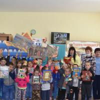 В детской модельной библиотеке прошел литературный час «Сказочная пушкинская страна»