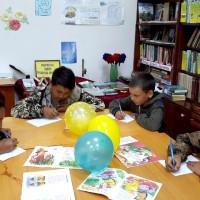 """22 мая в Сейтяковской сельской библиотеке провели познавательно-игровую программу """"Путешествие в Культуроград""""."""